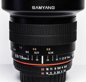 Samyang 10mm 1:2.8 ED AS NCS CS